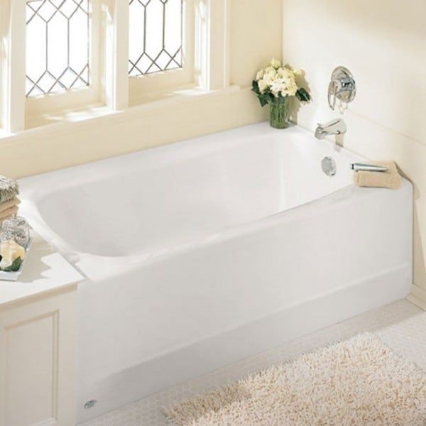 American Standard Cambridge 2461 102 020 White Soaking