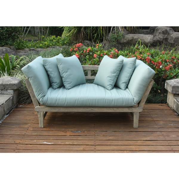 Cambridge Casual West Lake Spruce Blue Convertible Outdoor