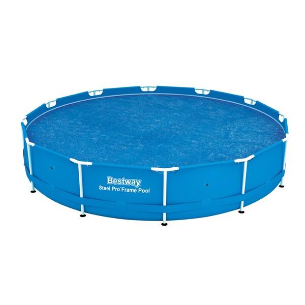 Bestway 12 Foot Solar Pool Cover 18550767 Overstock