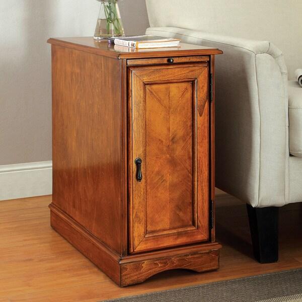 Shenandoah Furniture Sofa Furniture of America Merra Transitional Storage Side Table ...