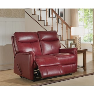 Brown Leather 7 Piece Recliner Sectional Seating W