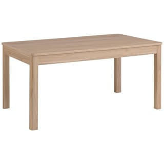 Simple Living Large Shaker Dining Table In White And