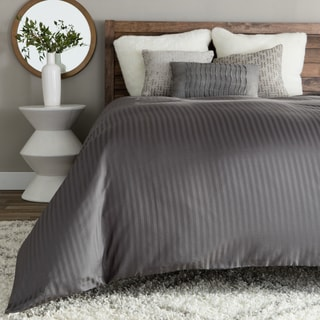 Egyptian Cotton 800 Thread Count Solid 3 Piece Duvet Cover