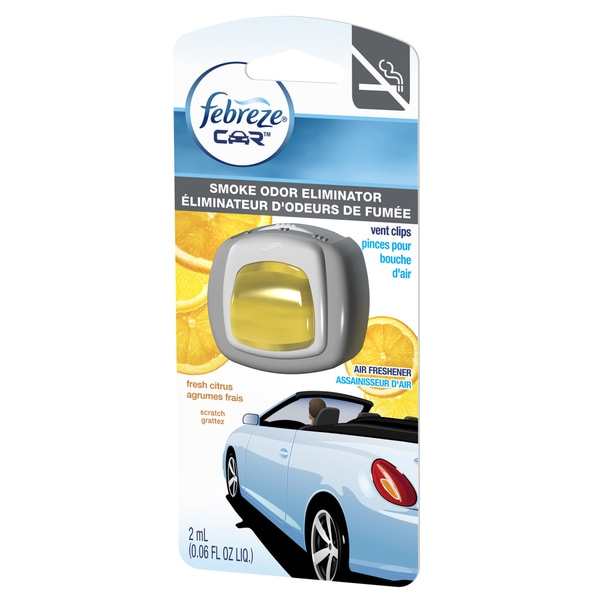 Febreze Car Vent Clips Air Freshener Odor Eliminator New: Febreze Car Vent Clips Air Freshener