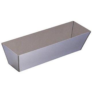 """Walboard 24-003/SP-14 14"""" Stainless Steel Mud Pan"""