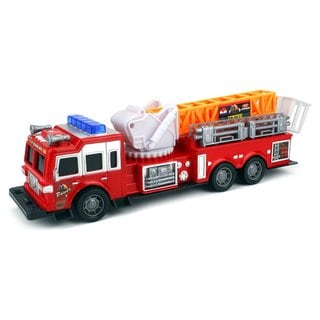 Velocity Toys Fire Rescue Fd 28 Toy Fire Truck With Siren