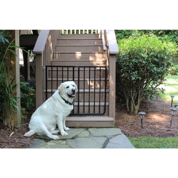 Cardinal Gates Black Outdoor Gate 18582246 Overstock