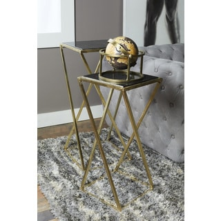Greyson Living Mandalay Glass Top Occasional Tables Pack