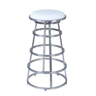 Armen Living Vienna 30 Inch Swivel Bar Height Barstool In