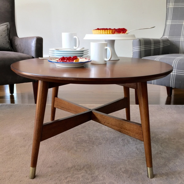 Hastings Coffee Table: Angelo:HOME Allen Round Coffee Table