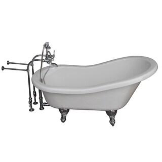 Slipper Cast Iron 60 Inch Clawfoot Bathtub 15179237