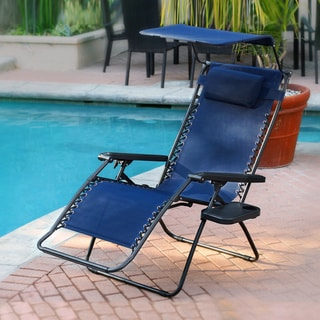 Caravan Canopy Black Zero Gravity Chair 13140408