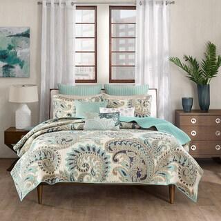 Tommy Bahama Turtle Cove Cotton 3 Piece Quilt Set