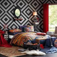 Josie by Natori Hollywood Boho Cotton Comforter Mini Set