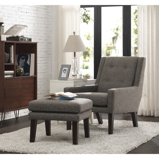 Enzo Pebble Stone Accent Chair 13641918 Overstock Com