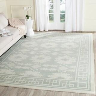 Safavieh Handmade Bella Grey Silver Wool Rug 9 X 12