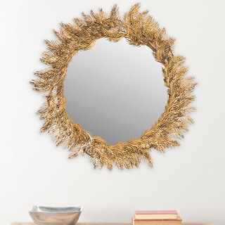 The Gatsby Wall Mirror With Platinum Gold Frame 17343386