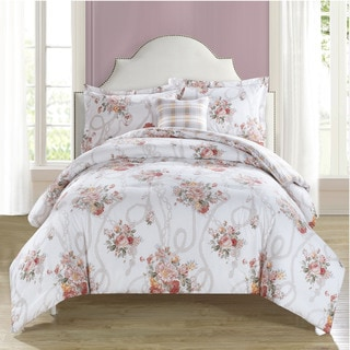 Laura Ashley Vivienne 4 Piece Comforter Set 18015786