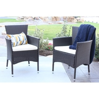 Acacia Wood Patio Chairs Set Of 2 13332230 Overstock