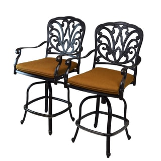 Christopher Knight Home Santa Maria Bar Stool Set Of 2