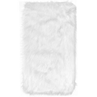 Asher Faux Sheep Skin Shag Rug 2 6 X 4 2 17204888
