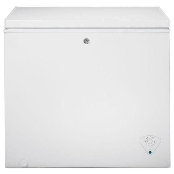Ge 7 0 Cubic Foot Manual Defrost Chest Freezer 18715537