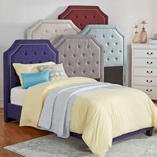 Dhp Savannah Pink Upholstered Twin Bed 18469420