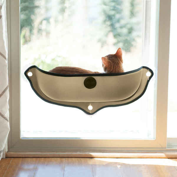 K Amp H Pet Products Ez Mount Window Cat Bed Kitty Sill