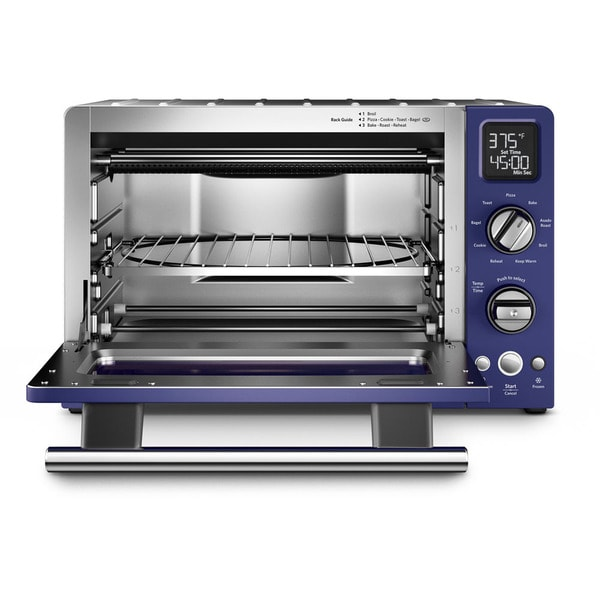 Costco Oven Ovens Digital Convection Toaster Model Vintage Kitchenaid Countertop Microwave Kco275bu Cobalt Blue Variable Temperature