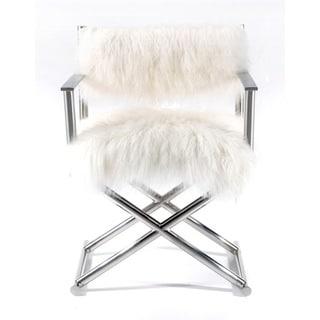 Aurora Home Faux Fur 65cm Yoga Ball Chair 16609435