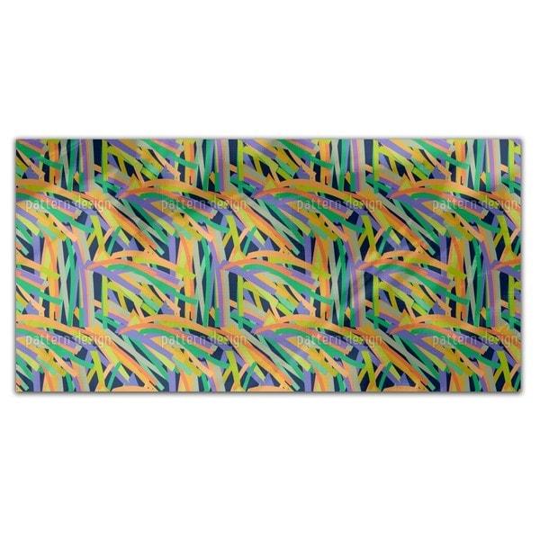 Stripe Jungle Rectangle Tablecloth image