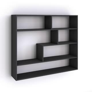 Black Laminate Large Corner Wall Mount Shelf 16086224