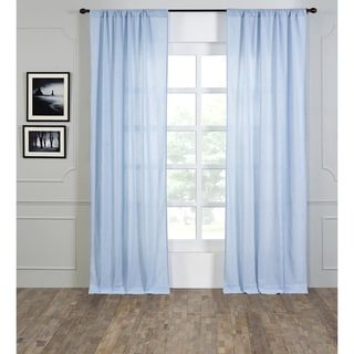 Lyon Rod Pocket 96 Inch Curtain Panel 12155856