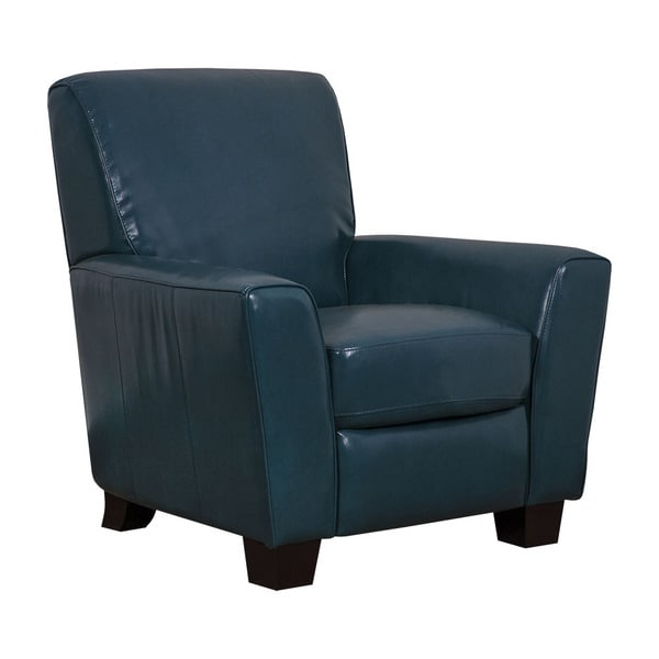 Mayfair Peacock Faux Leather Pushback Recliner 18800551