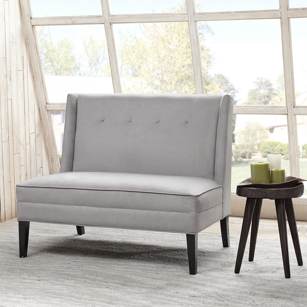 Safavieh Sofas Madison Park Brinley Button Tufted High Back Settee ...