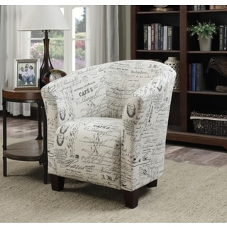 Corliving Antonio Leather Tub Chair 16908975 Overstock