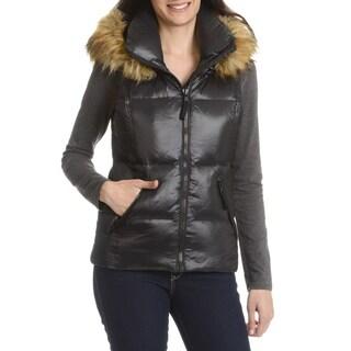 Vince Camuto Women S Faux Fur Hooded Vest 15675288