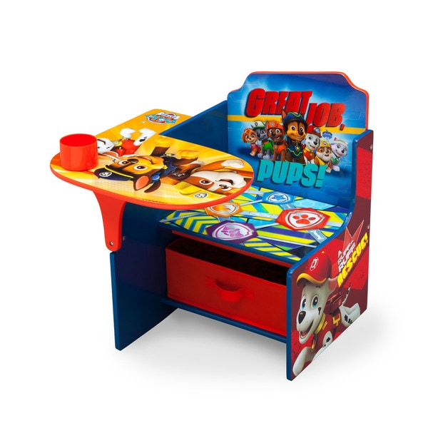 Stupendous Nick Jr Paw Patrol Chair And Desk With Storage Bin 18844883 Pdpeps Interior Chair Design Pdpepsorg