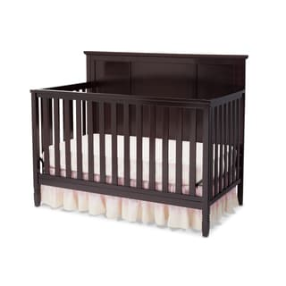 Child Craft Abbott Collection Walnut Finish Wood 4 In 1