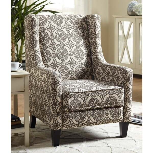 Simply Living Wing Accent Chair: Simple Living Clara Wing Accent Chair