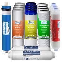 iSpring F19K75 6-stage Alkaline RO 2-year Supply for iSpring RCC7AK, RCC7P-AK