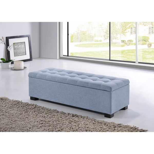 Baxton Studio Alcmene Modern And Contemporary Light Blue