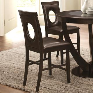 Window Back Counter Stools Set Of 2 10807462