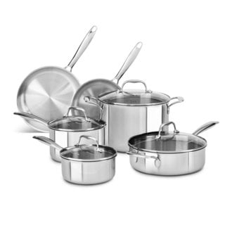 Stainless Steel Cookware Sets Overstock Com