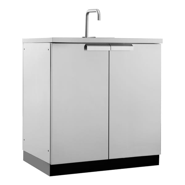 """Outdoor Sinks And Cabinets: NewAge Products Outdoor Kitchen 32""""W X 24""""D Sink Cabinet"""