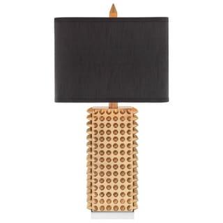 Dimond Black Stud Ceramic Lamp 17430380 Overstock Com
