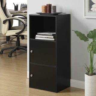 Bush Furniture Aero 2 Door Tall Library Storage Cabinet