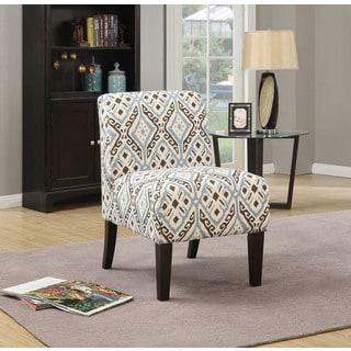 Inspire Q Peterson Vertical Wavy Stripe Slipper Chair