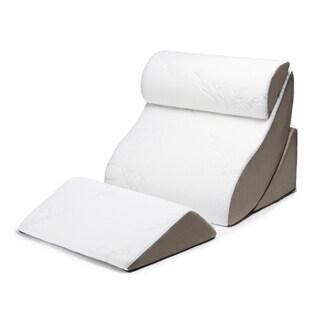 Natural Pedic Folding Wedge Acid Reflux Memory Foam Pillow