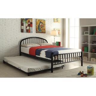 Full Metal Black Loft Bed 15623391 Overstock Com